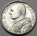 Watykan 5 Lirów 1937 Pius XI