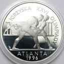20 zł złotych 1995 Igrzyska XXVI Olimpiady Atlanta