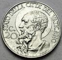 Watykan 20 Centesimo 1940