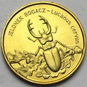 2 zł, złote 1997 Jelonek Rogacz BARDZO ŁADNA