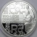20 zł złotych 1998 Skłodowska Polon i Rad