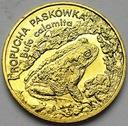 2 zł, złote 1998 Ropucha Paskówka