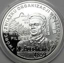 10 zł złotych 2010 Auschwitz Witold Pilecki
