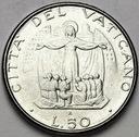 Watykan 50 Lirów 1987 Jan Paweł II