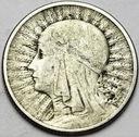 2 zł złote 1934 Głowa kobiety, babka, Polonia