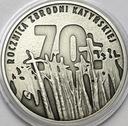 10 zł złotych 2010 Katyń 70 rocznica zbrodni
