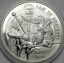 10 zł złotych 2001 Jan III Sobieski PÓŁPOSTAĆ