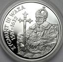10 zł złotych 1998 Zygmunt III Waza PÓŁPOSTAĆ