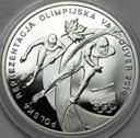 10 zł złotych 2010 Vancouver