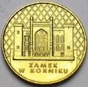 2 zł, złote 1998 Zamek w Kórniku