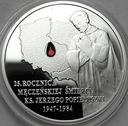 10 zł złotych 2009 Ks. Jerzy Popiełuszko
