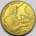 2 zł, złote 1999 Fryderyk Chopin Szopen