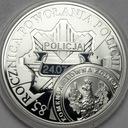 10 zł złotych 2004 Policja 85 lat