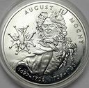10 zł złotych 2002 August II Mocny
