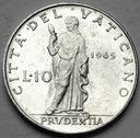Watykan 10 Lirów 1965 Paweł VI
