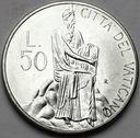 Watykan 50 Lirów 1986 Jan Paweł II