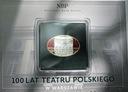 10 zł złotych 2013 Teatr Polski