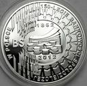 10 zł złotych 2012 Bankowość Spółdzielcza 150lecie