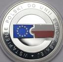 10 zł złotych 2004 Wstąpienie Polski do UE