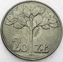 20 zł 1973 Kwitnące Drzewo PRÓBA CuNi