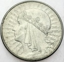 10 zł złotych 1933 Głowa kobiety, babka, Polonia
