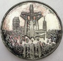 100000 zł złotych 1990 Solidarność TYP A SREBRO