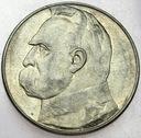 10 zł złotych 1937 Józef Piłsudski ŁADNA
