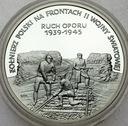 200000 zł złotych 1993 Ruch Oporu