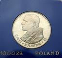 1000 zł złotych 1982 Jan Paweł II SREBRO
