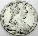 Austria talar Teresy 1780 Maria Teresa SREBRO