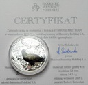 Symbole Przyrody - Bielik SREBRO Ag 925