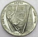 Niemcy 10 Marek SREBRO 1990 J Orden 800 lat