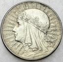 5 zł złotych 1932 Głowa kobiety, babka, Polonia