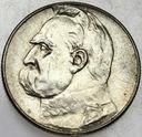 5 zł złotych 1935 Józef Piłsudski SREBRO