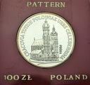 100 zł 1981 Kościół Mariacki w Krakowie PRÓBA Ag