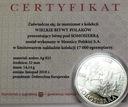 Wielkie Bitwy Polaków - Somosierra SREBRO Ag 925