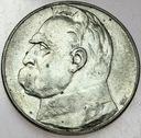 10 zł złotych 1934 Józef Piłsudski STRZELECKI