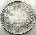 Indie 1 Rupia 1862