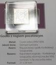 Znaczki Godło z rogiem pocztowym SREBRO Ag 999
