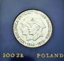 200 zł 1975 XXX Rocznica Zwycięstwa nad faszyzmem
